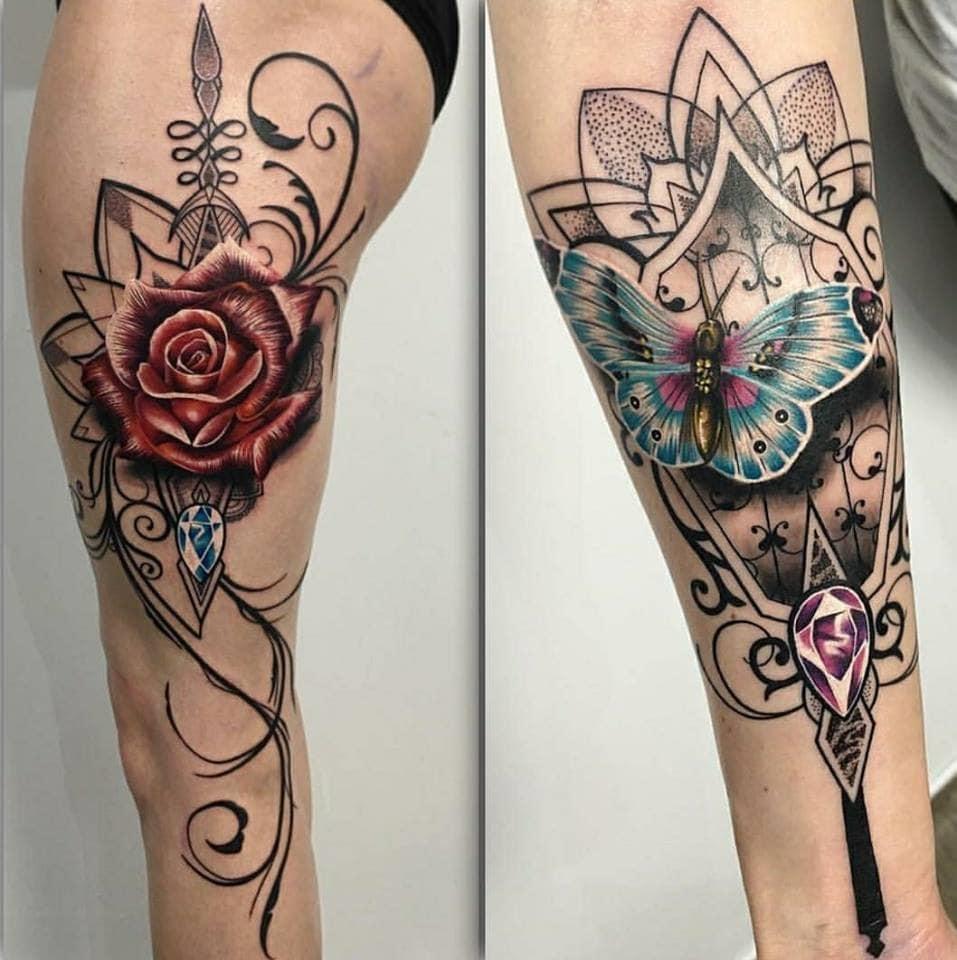 tattoos by @ryansmithtattooist