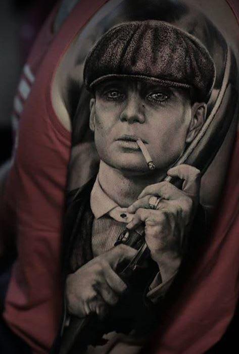 Peaky Blinders portrait by @thomascarlijarlier