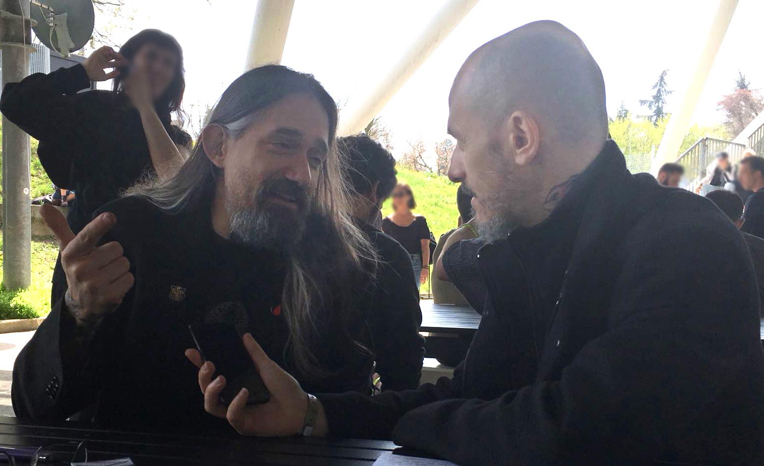 Filip Leu and Jerry Magni
