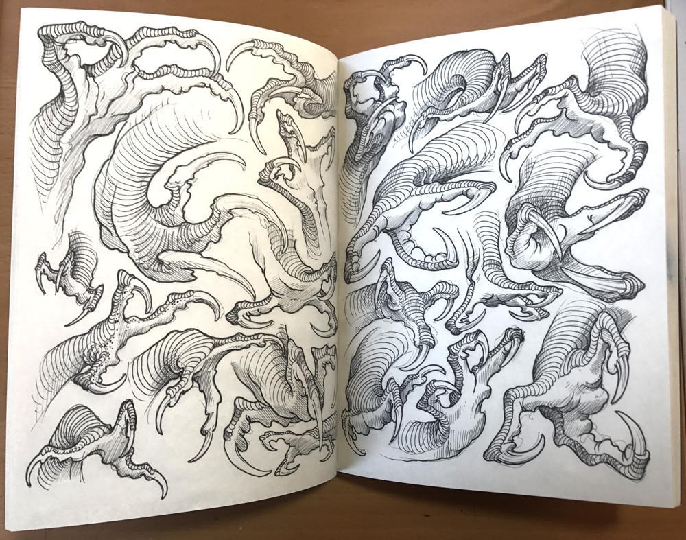 Fragon Claws design by Filip Leu