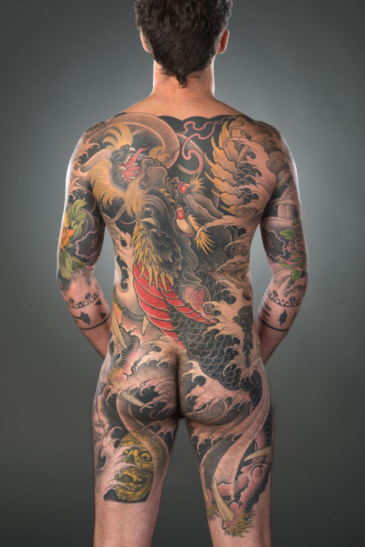 Back Piece dragon by Filip Leu